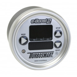 e-Boost2 60PSI 66mm Silver face/Silver bezel